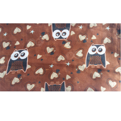Brown Owl Large Scarf Sarong for beach holiday Statement