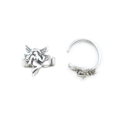Angel (Left Ear) Ear Cuff in 925 Silver